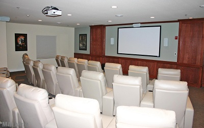 Liberty Square Senior living - State of the Art Movie Theatre Seating 30