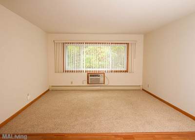 Arbor Hills - Living Room in 2 Bedroom Apartment