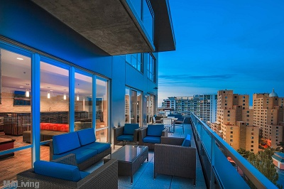 Domain - Rooftop Terrace with Capitol & Lake Views