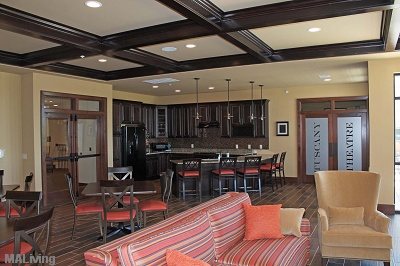 The Tuscany on Pleasant View - Resident Community Room