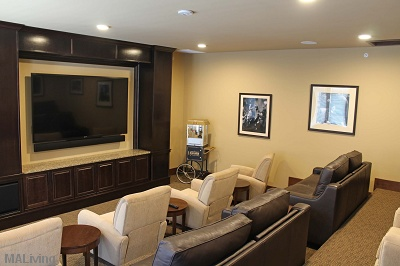 The Tuscany on Pleasant View - Theater Room with Surround Sound
