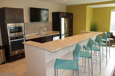 Elan Apartment Homes - Sensational Clubhouse with Full Kitchen