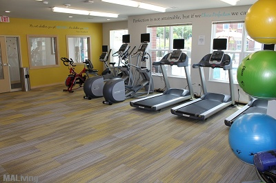 Elan Apartment Homes - State-of-the-Art Fitness Center