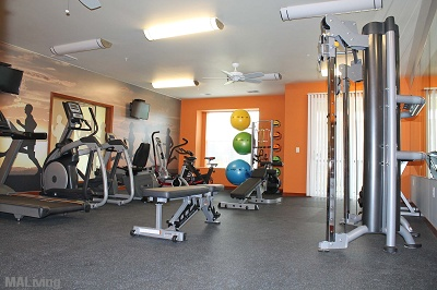 Prairie Trail Residences - Fitness Center with Club Grade Equipment