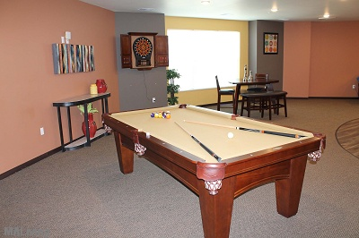 Prairie Trail Residences - Billiards