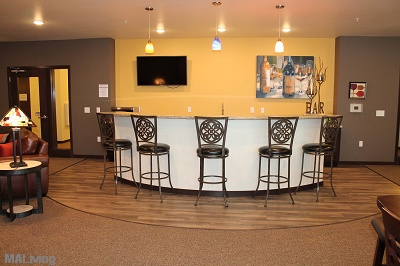 Prairie Trail Residences - Second Level Clubroom