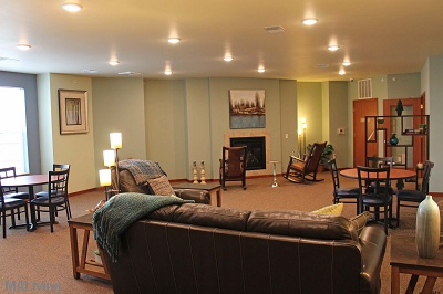 Prairie Trail Residences - Relax in Our Second Level Clubroom