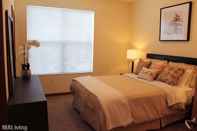 Prairie Trail Residences - Carpeted Bedroom