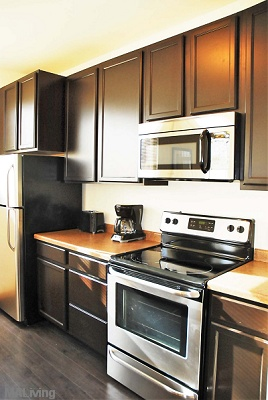 Wingra Point Residences - Deluxe Stainless Steel Appliance Package
