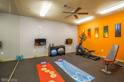 Tribeca Village - Fitness Center With Club Grade Equipment and Yoga