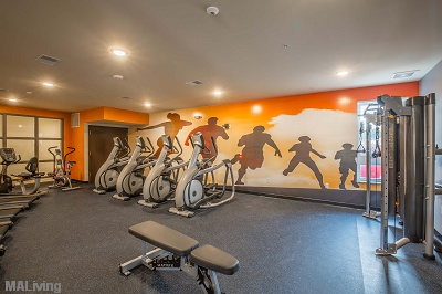 Veritas Village - Fitness Center with Club Grade Equipment