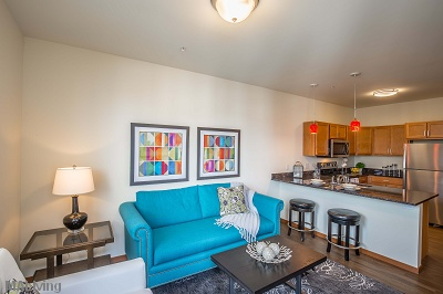 Veritas Village - Spacious, Open Floor Plans with Dramatic High Ceilings