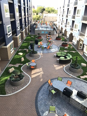 Veritas Village - Resort Style Courtyard