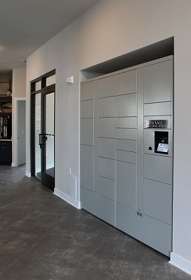 Autumn Lake Apartments - Innovative Package Concierge System Lockers