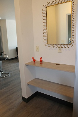 Yahara Terrace - Charge Your Phone At The Technology Nook With USB Ports & Shelves