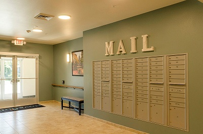 Novation Senior Commons - Mail Area