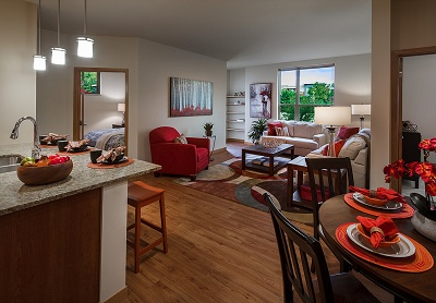 The Quarry Apartments - Finish examples from our related property The Lodge at Walnut Grove