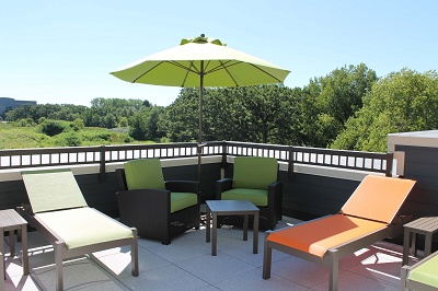 Hidden Creek Residences - Relax on Rooftop Patio #2