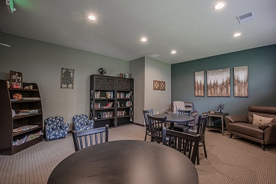 Hidden Creek Residences - Clubhouse - Relax in our Library