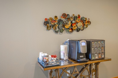 Hidden Creek Residences - Complimentary Coffee Bar to Start Your Mornings Off Right