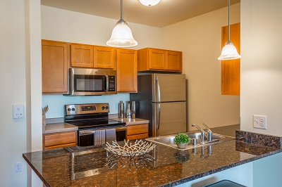 Hidden Creek Residences - Gorgeous Gourmet Kitchens with Granite Counters