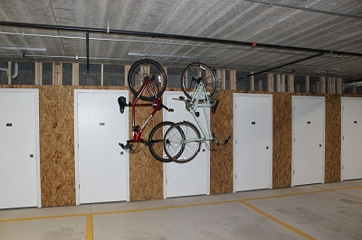 1 Glenn Place - Storage and Personal Bike Racks
