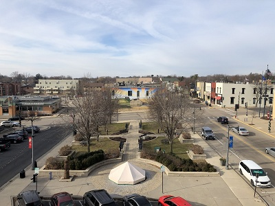 Cannery Square - Rooftop Terrace View