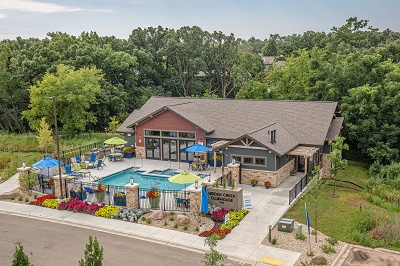 Hidden Creek Residences - Clubhouse and Pool