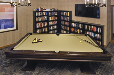 Yorktown Estates - Billiards Room